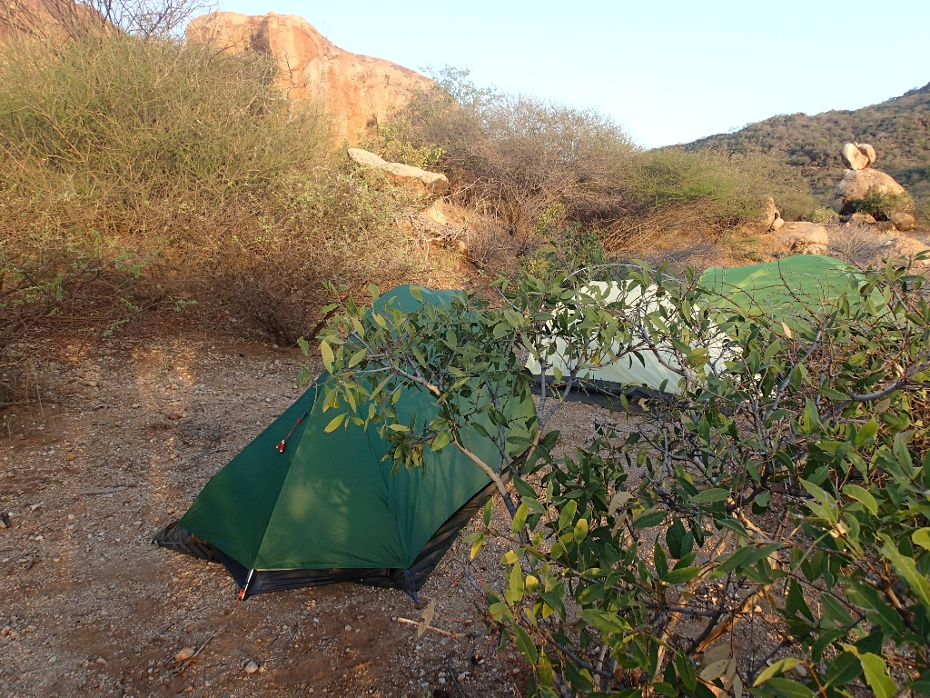 bushcamping zelte