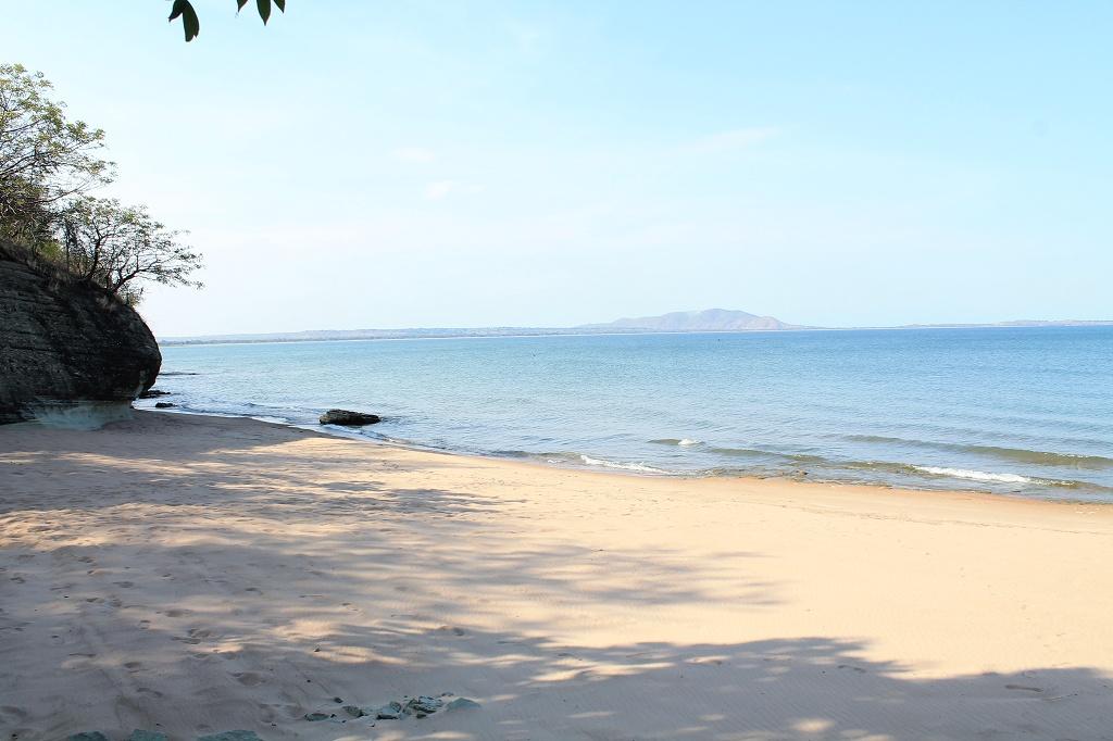 the very same beach